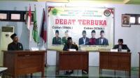 Debat Calon Presiden Mahasiswa INSURI 2021. Debat ini diselenggarakan di Aswaja Hall pada Jumat (25/6)