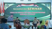 KH. Marzuki Mustamar Saat Menjadi Pembicara Seminar Nasional Radikalisme di INSURI Ponorogo